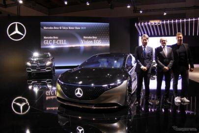 メルセデスベンツ、ヴィジョンEQS を東京モーターショー2019でアジア初公開
