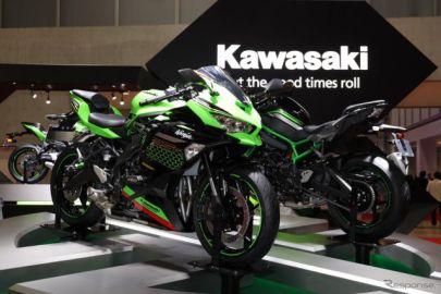 """ついに出た""""4発ニーゴー""""!カワサキ Ninja ZX-25R、気になる値段は…東京モーターショー2019"""