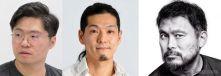 左から、韓国オリーブストーン社UXデザイン総括 取締役のキム・ギョンス氏、エスディーテック取締役副社長CTO 鈴木啓高氏、ドッツ スマートモビリティ事業推進室 室長 坂本貴史氏《画像:イード》