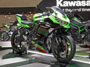 カワサキ Ninja ZX-25R の衝撃! 250cc唯一の4気筒エンジン搭載…東京モーターショー2019[詳細画像]