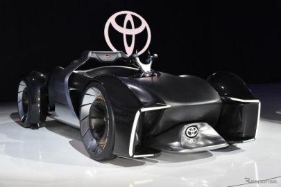 トヨタ e-RACER は未来の愛馬…東京モーターショー2019[詳細画像]