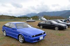 今も美しい! いすゞ ピアッツァ が富士の裾野に集う
