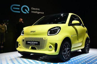 スマート『EQフォーツー』改良新型、アジア初登場…東京モーターショー2019[詳細画像]