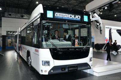 国産初のハイブリッド連節バス、いすゞ エルガデュオ…東京モーターショー2019[詳細画像]