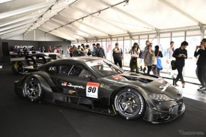 来シーズンから走り出すGT500マシンを一挙展示…SUPER GT 最終戦