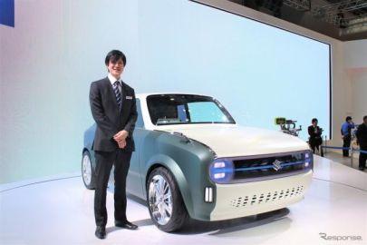 スズキの歴代モチーフを取り入れた WAKUスポ…東京モーターショー2019[デザイナーインタビュー]