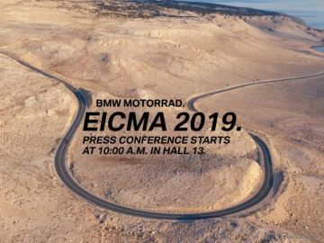 BMWモトラッド、新型4モデル発表へ…EICMA 2019