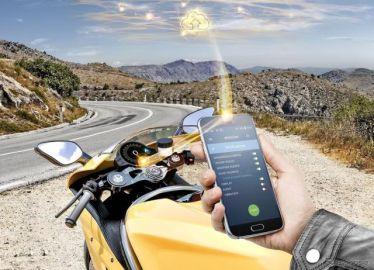 コンチネンタル、二輪車向け路面状態予測システム開発…EICMA 2019で発表へ