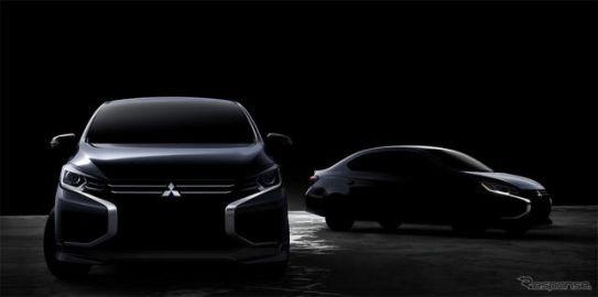 三菱 ミラージュ/アトラージュ、デザイン一新 11月18日にタイより発売