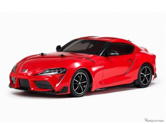 タミヤ 1/10電動RCカーシリーズ トヨタGRスープラ《画像:タミヤ》