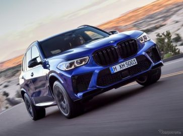 BMW X5 M 新型、625馬力に強化…ロサンゼルスモーターショー2019で発表へ