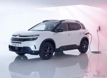 シトロエン初のPHV、C5 エアクロス SUV に設定…2020年欧州発売へ