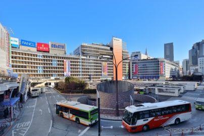 東京・新宿駅で案内誘導の実証デモを実施 ジョルダン