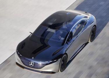 メルセデスベンツの新世代EV 「EQ」、初のセダン『EQS』…広州モーターショー2019に出展へ