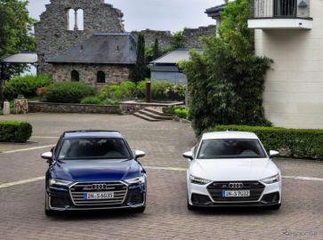 アウディ S6 と S7 新型、450馬力のガソリン仕様を発表へ…ロサンゼルスモーターショー2019