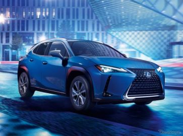レクサス初の市販EV、『UX300e』発表…広州モーターショー2019