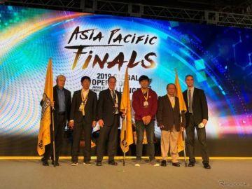 キャタピラー グローバル オペレータ チャレンジ、世界大会出場のアジア代表3名が決定