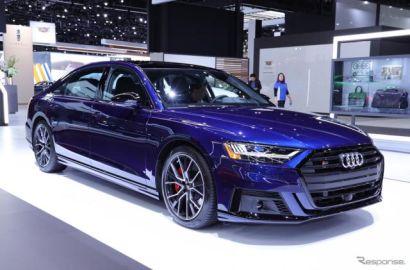 アウディ S8 新型、571馬力V8に「AI」サスペンション…ロサンゼルスモーターショー2019[詳細画像]