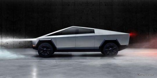 テスラ初の電動ピックアップトラック、『サイバートラック』発表…0-96km/h加速2.9秒