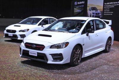スバル WRX & WRX STI シリーズホワイト、北米限定で計1000台…ロサンゼルスモーターショー2019[詳細画像]