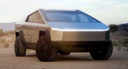 テスラの『サイバートラック』、生産開始は2021年後半…予約受注20万台