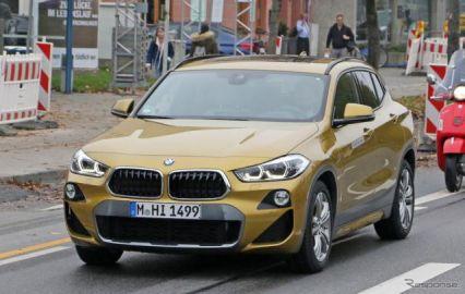 BMW X2、プラグインハイブリッド仕様の画像がリーク!2020年前半デビューか