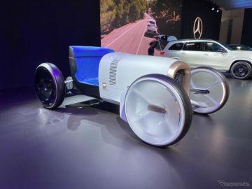 1900年のメルセデス第一号車を最新技術で再現、『ヴィジョン・シンプレックス』…ロサンゼルスモーターショー2019
