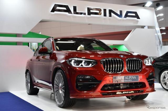 アルピナ BMW ALPINA XD4 Allrad《撮影 野口岳彦》