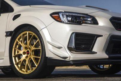 WRX STI S209、ダンロップの高性能タイヤ「SP SPORT MAXX GT600A」を新車装着