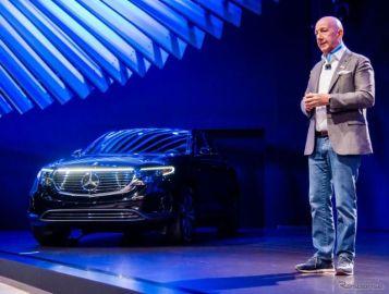 メルセデスベンツ初の市販EV『EQC』、米国導入は2020年初頭…ロサンゼルスモーターショー2019