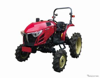 ヤンマー、畑作管理作業に最適なハイクリアランス仕様トラクター発売へ