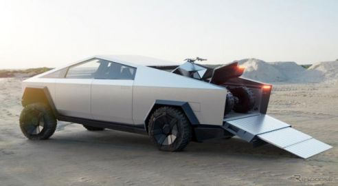 テスラ サイバートラック、専用の電動ATVを設定予定