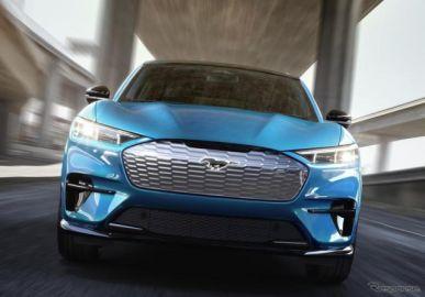 フォード マスタング EV、ケン・ブロックがプロトタイプをテスト