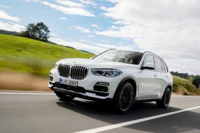 BMW X5 新型、EV後続80kmのPHEVモデル追加---最高出力530psのMモデルも