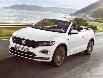 VW Tロック カブリオレ、受注をドイツで開始…2万7495ユーロから