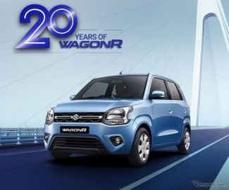スズキ ワゴンR 、インドで発売20周年…3世代の販売台数は240万台を突破