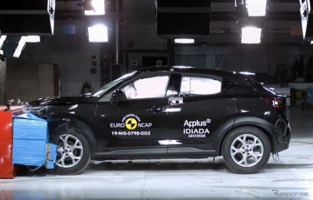 日産 ジューク 新型、最高の5つ星評価…ユーロNCAP