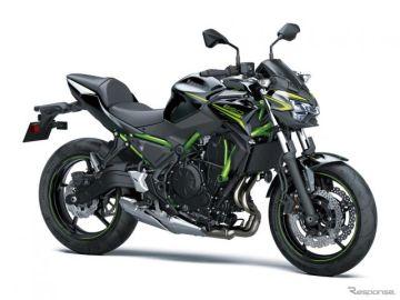 カワサキ Z650/Ninja 650、2020年モデル発売へ 環境性能を高めた新エンジン搭載など