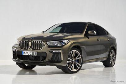 【BMW X6 新型】ライトアップ付キドニーグリルなど、最新デザイン採用 価格990万円より