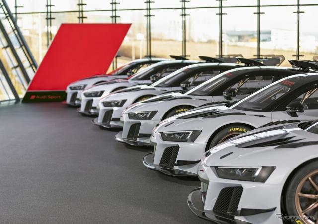 アウディ R8 LMS GT2《photo by Audi》