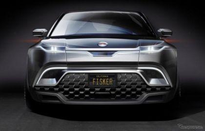 9枚の窓ガラスをスイッチひとつで下げる…フィスカーのEV『オーシャン』に特許技術、CES 2020で発表予定