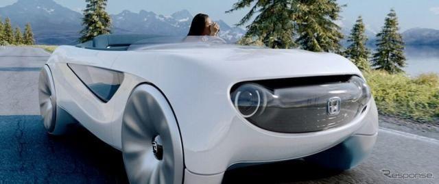 ホンダ、ドライバーの意思を読み取り自動運転と手動運転を切り替え…CES 2020で発表へ