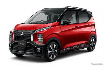 三菱 eKクロス、運転支援技術やデジタルルームミラーなど装備の特別仕様車発売