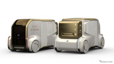 トヨタ『e-ケア』、未来の電動救急車を提案…CES 2020に出展へ