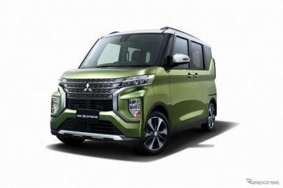 三菱の新型軽スーパーハイトワゴン、車名は『eKクロススペース』&『eKスペース』に…東京オートサロン2020