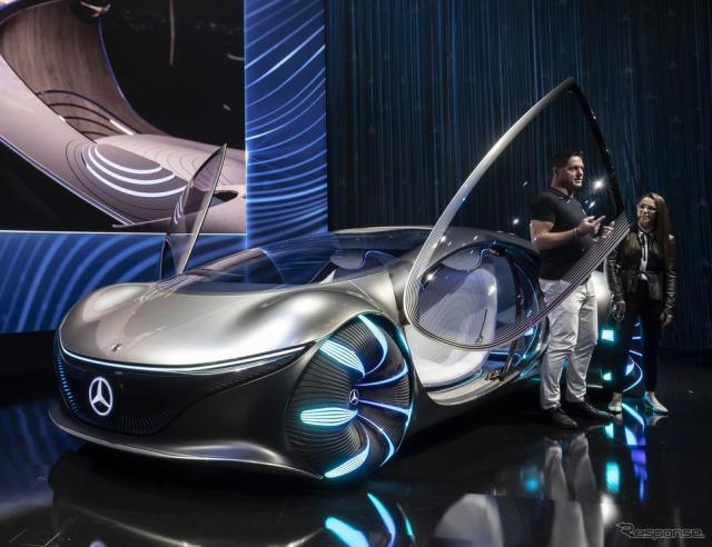 メルセデスベンツ・ヴィジョン AVTR(CES 2020)《photo by Mercedes-Benz》