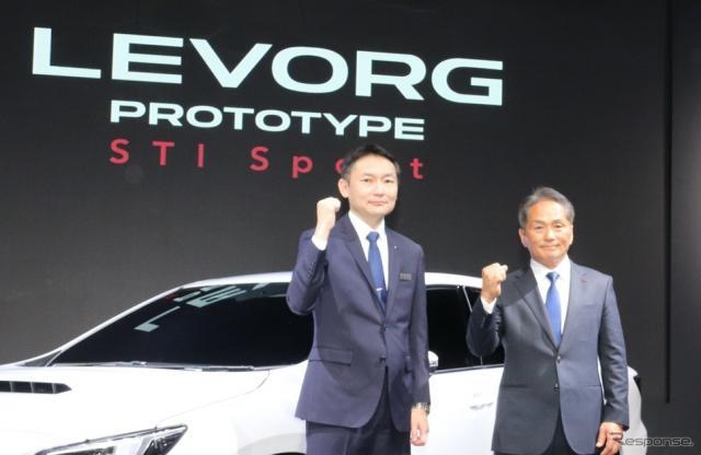新型レヴォーグ・プロトタイプ STI Sport(東京オートサロン2020)《撮影:中尾真二》