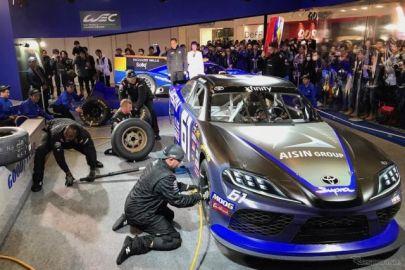 モータースポーツ界を支えたい! グッドイヤーがレースの迫力を伝える…東京オートサロン2020