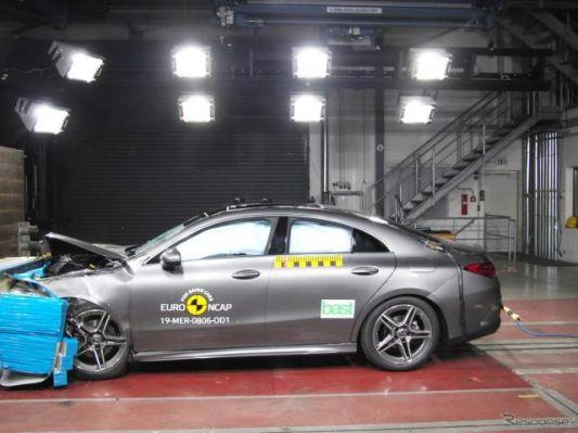 メルセデスベンツ CLA 新型、最も安全な小型ファミリーカーに選出…ユーロNCAP