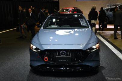 マツダ3 モータースポーツコンセプト、あえてライトなカスタマイズ…東京オートサロン2020[詳細画像]